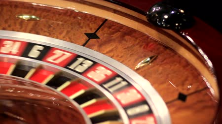 ruleta : Carnet en casino Archivo de Video