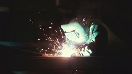 spawanie : Welding in the production Wideo