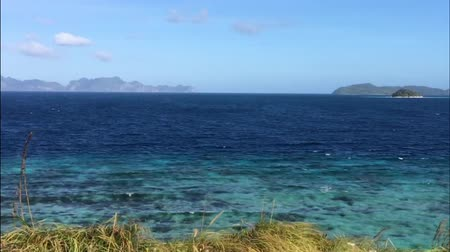 Beautiful tropical view - Banana island near Busuanga island , Philippines
