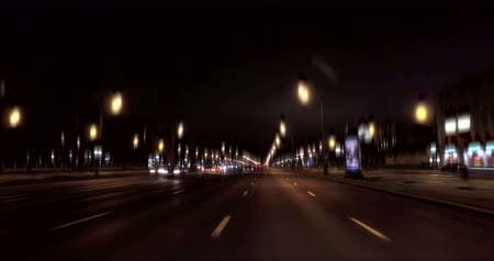 capital cities : city traffic Stock Footage