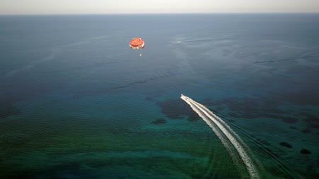 Parasailing in the Open Sea