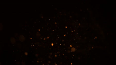 крекер : The gold, yellow flying particles for your Wedding, Valentines Day, Birthday, Celebration, Carnival, Party or Holiday Projects!Use blending mode (screen). Slow Motion.