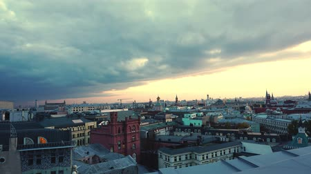 moskwa : Sunset. Moscow