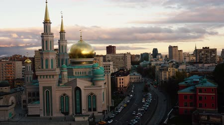 минарет : Moscow. Cathedral Mosque