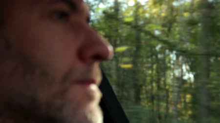 atenção : car driving - inside the car Stock Footage
