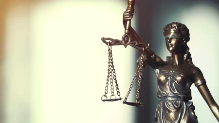 hukuk : The Statue of Justice - lady justice or Iustitia the Roman goddess of Justice