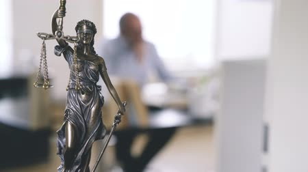 condemn : The Statue of Justice - lady justice or Iustitia the Roman goddess of Justice