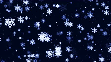 Christmas winter animation sketch abstract background Stock Footage