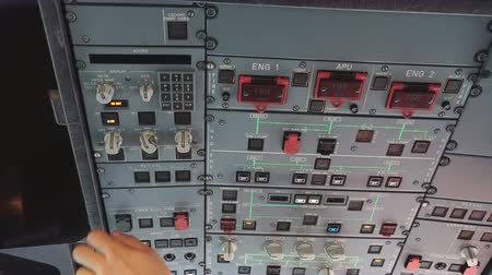 kaptan : The pilot checks the aircraft for the flight