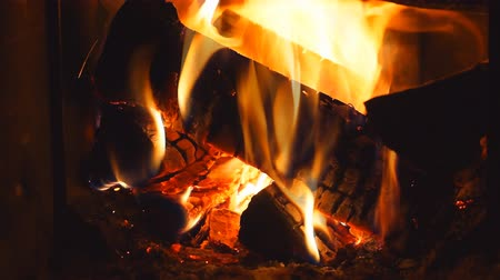 rachotit : Adding firewood in burning furnace