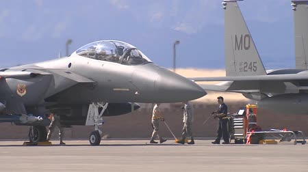 ar : f 15 eagle at red flag