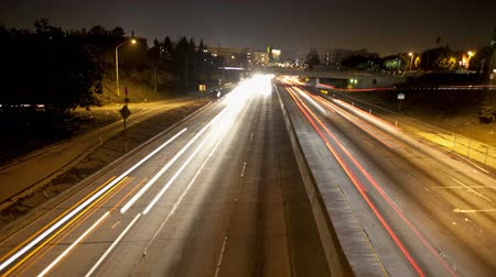 streaking : streaking highway timelapse lights