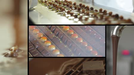 bakery : making chocolates sequence