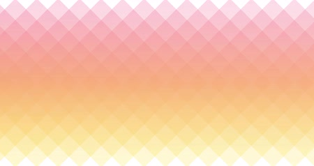 Abstract colorful elegant gradient overlapping diamond geometry transition background Stock Footage