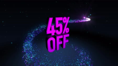вихрь : Magic shinning particle circle trail and 3D banner text 45% OFF