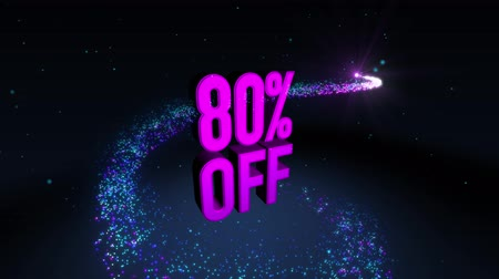 вихревой : Magic shinning particle circle trail and 3D banner text 80% OFF
