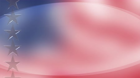 vlastenectví : Patriotic American background - seamless loop Dostupné videozáznamy