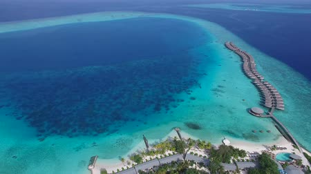 остров : Top View of Maldives Island