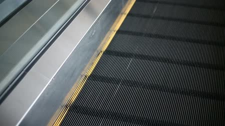 エスカレーター : moving walkway, travelater, with walking traveler 動画素材