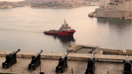 takımadalar : Saluting battery Malta
