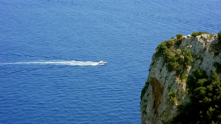 neapol : Sea view from the island of Capri Italy
