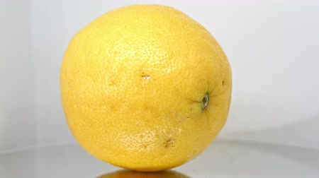 césar : Real lemon close up 2 Stock Footage