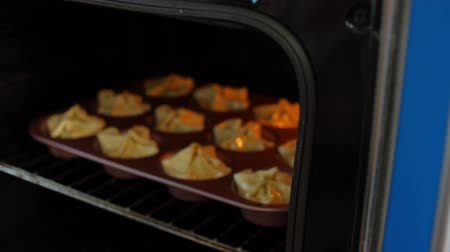 meat pie : Sausage cheese bake in the oven