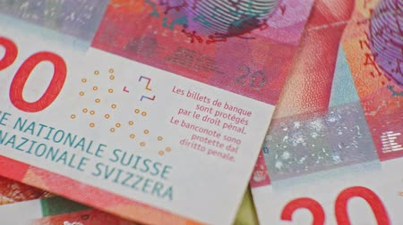 yirmi : CHF 20 close up, swiss francs, Switzerland