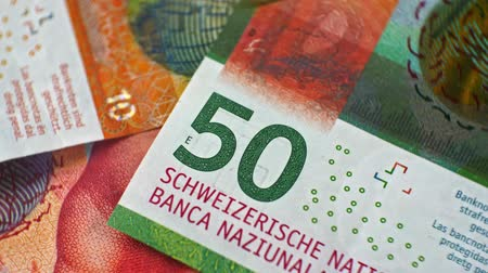 zahraniční : CHF 50 close up, swiss francs, Switzerland