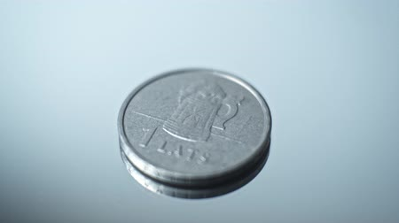 Латвия : 1 lats 2011 - Beer mug Closeup Coin of the Latvian republic