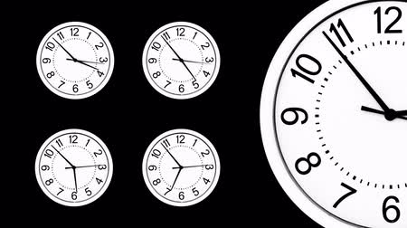 pocket watch : multiple clocks running