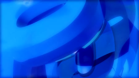 energy of o blue Stock Footage