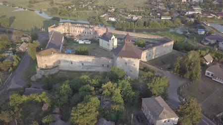 bástya : Ruined Medzhybizh Castle situated at Southern Bug rivers, Ukraine