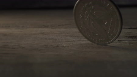 Slow Motion Silver Dollar