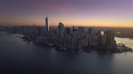 Downtown NYC aerial