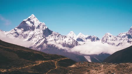 Ama Dablam Mountain view Timelapse.
