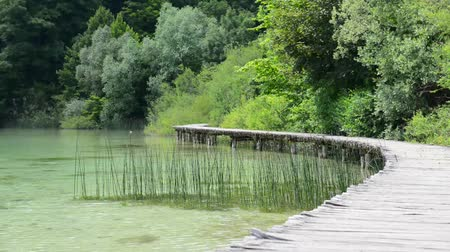 prkna : Wooden Hiking Trail in Plitvice National Park