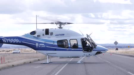 first officer : Helicopter Takes Off