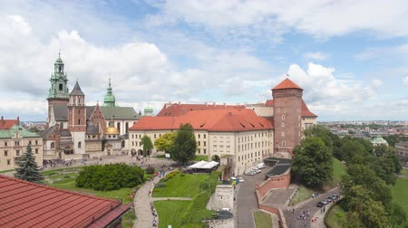 wawel : Wawel Royal Castle and Cathedral in Krakow, Poland
