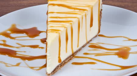 sajttorta : Cheesecake with caramel