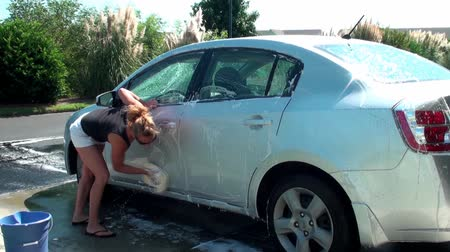 gąbka : Car washing