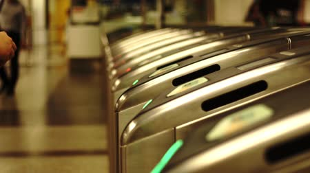 Subway ticket gate