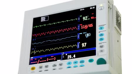 pacemaker : intensive care unit ECG monitor