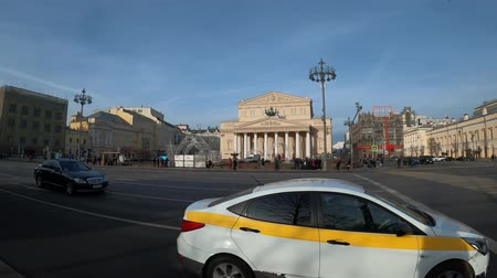 konie : MOSCOW, RUSSIA - NOVEMBER 24, 2019: The Bolshoi Theater.