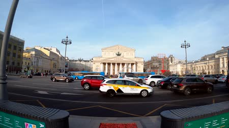 winter palace : MOSCOW, RUSSIA - NOVEMBER 24, 2019: The Bolshoi Theater.
