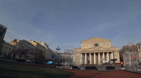 MOSCOW, RUSSIA - NOVEMBER 24, 2019: The Bolshoi Theater.