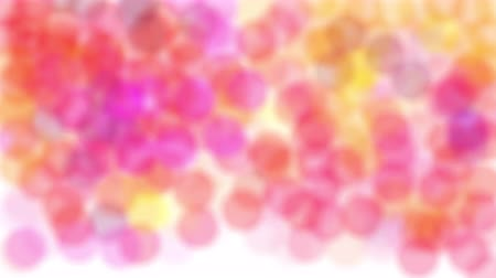 polca : Abstract handrawn animation of colorful polka dots Stock Footage