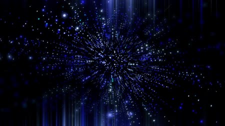 gömbölyű : abstract space background Stock mozgókép
