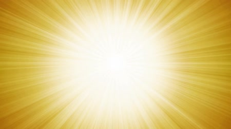 Abstract Summer Sunlight Background Animation Animation of an abstract flashy summer yellow sun background, with thin sun and light beams rotating