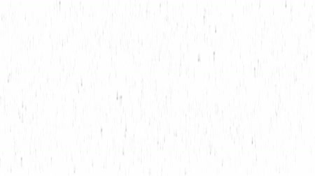 Abstract Rainfall Background Loopable animation of rain or snow falling with speed in black and white